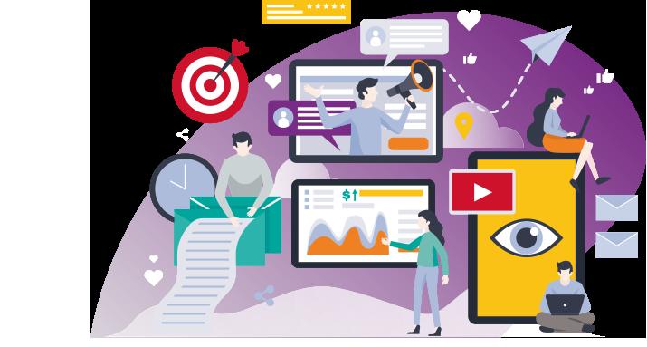 Marketing en ligne Positionnement Internet et des stratégies dans les Réseaux Sociaux